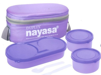 nayasa Duplex - DARSH mfp 3 Containers Lunch Box(600 ml)