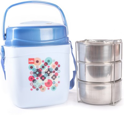 Cello 134607 3 Containers Lunch Box
