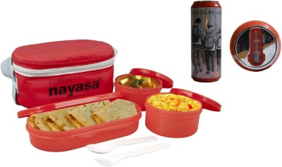 Nayasa Nayasa-combo- pack 3 Containers Lunch Box