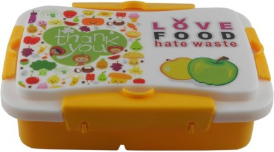 Infinxt Love Food Kids YLOW 1 Containers Lunch Box