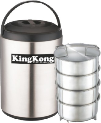 Jaypee king kong 4 Containers Lunch Box