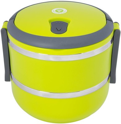 Homio Double Layer Round 2 Containers Lunch Box