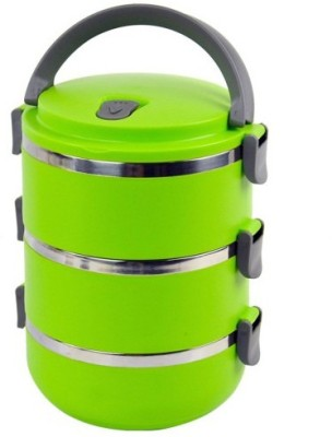 Blossoms Three Layer Tiffin Hot - 2100 ml 3 Containers Lunch Box