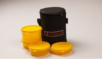 Cutting Edge Lunch Warmer 4 Containers Lunch Box
