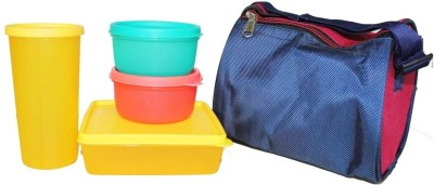 Wondermate 5 Piece Lunch Set 4 Containers Lunch Box