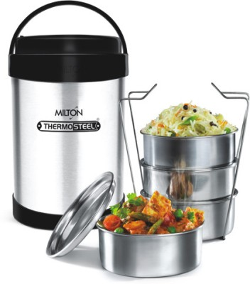 Milton Royal 4 Office Range Stainless Steel, Plastic Lunch Boxes