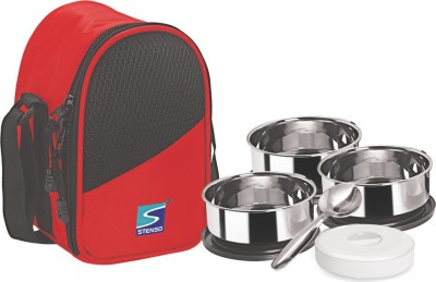 Stenso Indigo3 4 Containers Lunch Box