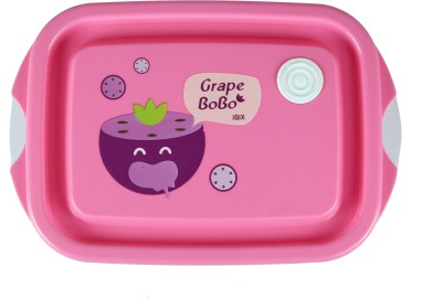 FabSeasons LBX04pink 2 Containers Lunch Box