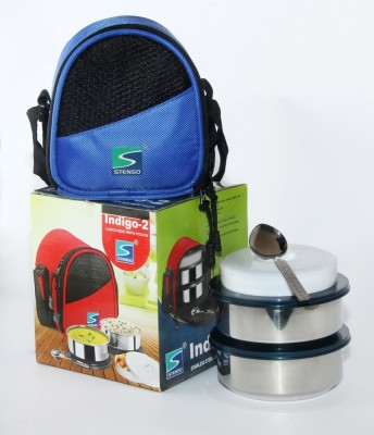 Stenso Indigo2 3 Containers Lunch Box