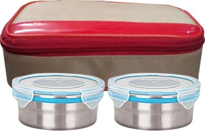 Gold Dust ABCLB19 2 Containers Lunch Box