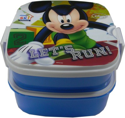 SKI LunchBox 1 2 Containers Lunch Box