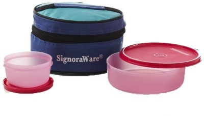 Signoraware 528 2 Containers Lunch Box(860 ml)