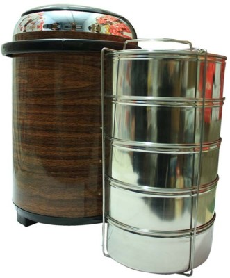 Jaypee Jumbo Ultra Wood 5 5 Containers Lunch Box