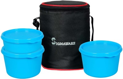 Sigmaware Executive-Office Medium Lunch 3 Containers Lunch Box