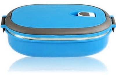 Gadget Bucket Homio Single Layered Stainless Steel Plastic Lunch Box 1 Containers Lunch Box