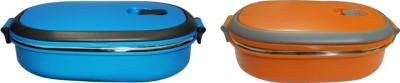 Blue Birds Hot Stainless Steet 1 Containers Lunch Box(500 ml) at flipkart