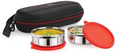 Cello Super Steel 2 Containers Lunch Box(300 ml) at flipkart