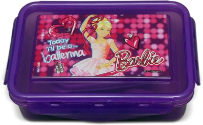 Barbie Airthight Lunch box Barbie ballerina 1 Containers Lunch Box