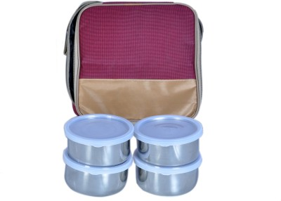 Homekitchen99 Rock Star With Cover 4 Containers Lunch Box