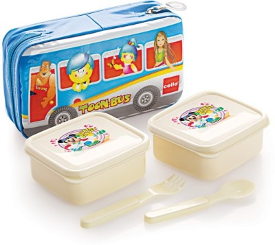 Cello World Aruba 2 Containers Lunch Box