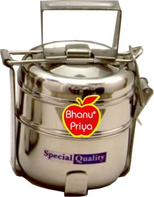 BHANU PRIYA hnik454 2 Containers Lunch Box