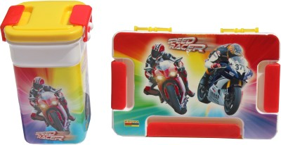 Scrazy Speed Car Tiffin Set 2 Containers Lunch Box