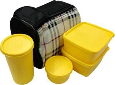 Topware Checkprint 4 Containers Lunch Box