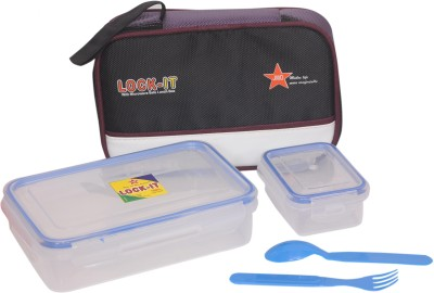 Jmd Homeware Lock It 800 2 Containers Lunch Box