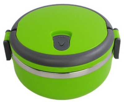 Blossoms New Single Layer Tiffin (Green) 1 Containers Lunch Box