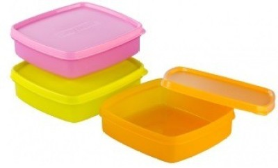 Nayasa Vital Square 3 Containers Lunch Box