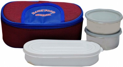 Me swastik EAT FRESH 3 Containers Lunch Box