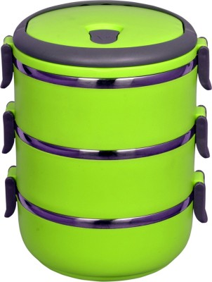 Gold Dust VKILB8 3 Containers Lunch Box