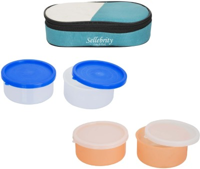 Sellebrity All best 2 in 1 With 2 Boxes 4 Containers Lunch Box(800 ml)
