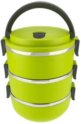 Grind Sapphire gs55-3 Layer- 3 Containers Lunch Box