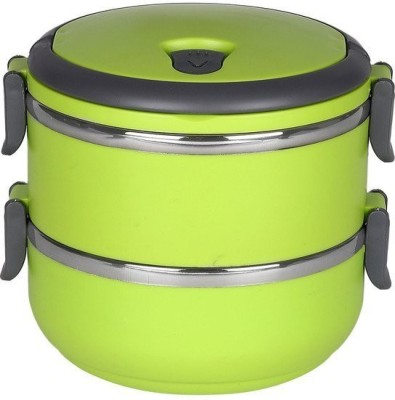 Gold Dust VKILB5 2 Containers Lunch Box