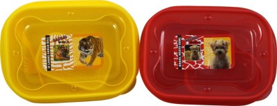 Manbhari Kids 2 Containers Lunch Box