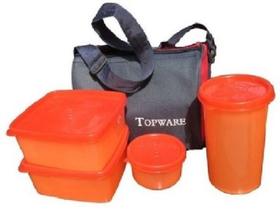 Top Ware 4Pcs LBox 4 Containers Lunch Box
