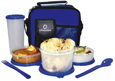 Oliveware LB32 lunch box 4 Containers Lunch Box