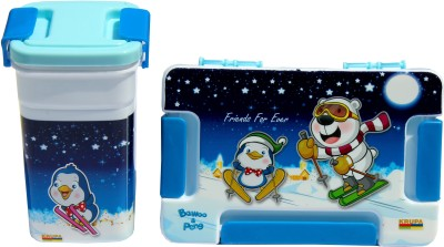 Scrazy Friends Forever Tiffin Set 1 Containers Lunch Box