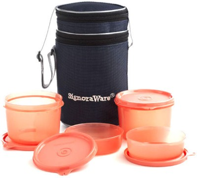 Signoraware 509 4 Containers Lunch Box