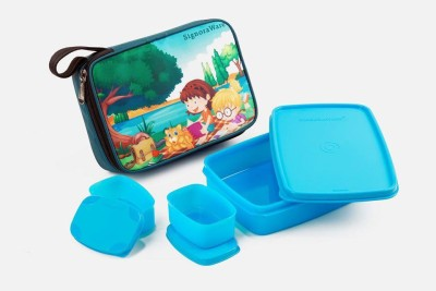 Signoraware Play Time Box 3 Containers Lunch Box