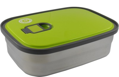 Infinxt Stylish Square Shape Colourfull G 1 Containers Lunch Box