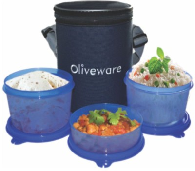 Oliveware LB39 3 Containers Lunch Box