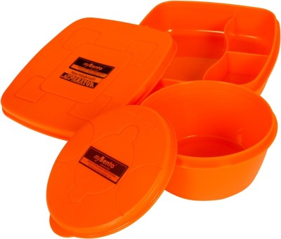 myBento SQRsplitmate 2 Containers Lunch Box