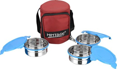 Mintage Lbm3c 3 Containers Lunch Box