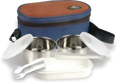 ARIP Double Decker-A 3 Containers Lunch Box