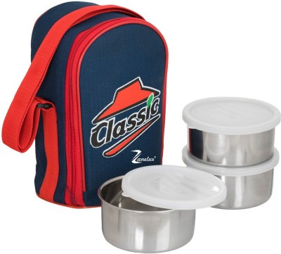 zanelux LB-027 3 Containers Lunch Box