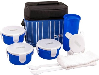 Nayasa ABCLB13 4 Containers Lunch Box