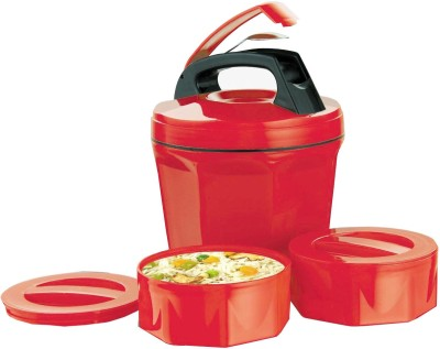 Ek Retail Shop 2 Container Leak Proof 2 Containers Lunch Box
