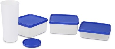 Oliveware LB53Blue 4 Containers Lunch Box